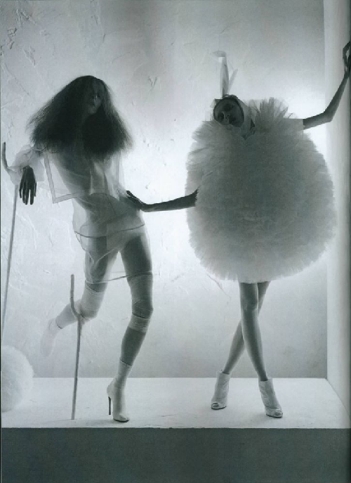 """A Magic World""; Olga Sherer and Alice Gibb shot by Tim Walker for Vogue Italia"
