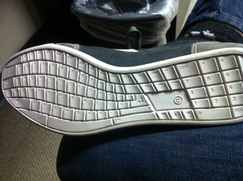 qwerty shoes