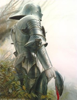 boot-and-blade:  Lancelot by John Howe