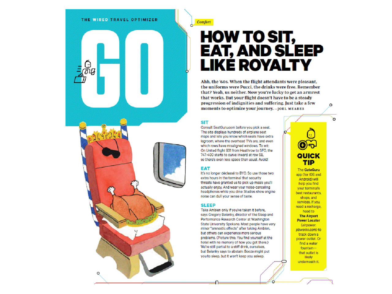 Love the GateGuru coverage in this month's Wired!