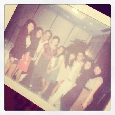 After collezione/due show love u girls!:)) (Taken with instagram)
