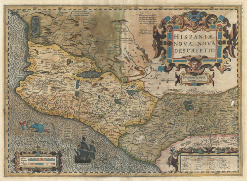 Jodocus Hondius & Gerardus Mercator, 1611, New Spain