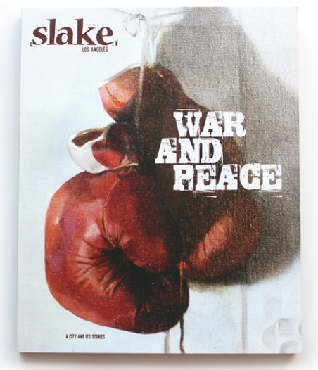 Slake, a Los Angeles-based quarterly with stride and attitude, is one of our new favorite magazines around the office. Learn a little more about it, as well as Sampsonia Way, right over here …