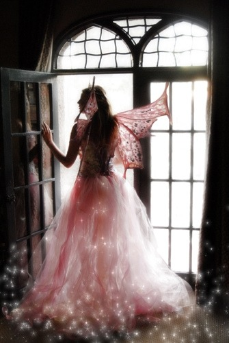 quirkywhimsy:  The Fae of the Pink Rose…