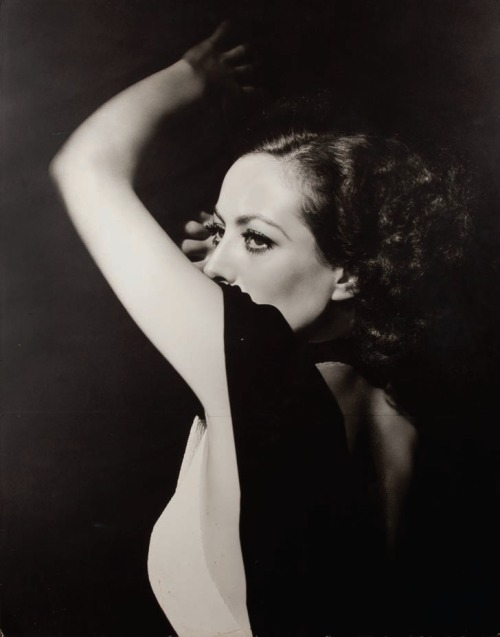 Joan Crawford from Grand Hotel by George Hurrell (M-G-M, 1932).
