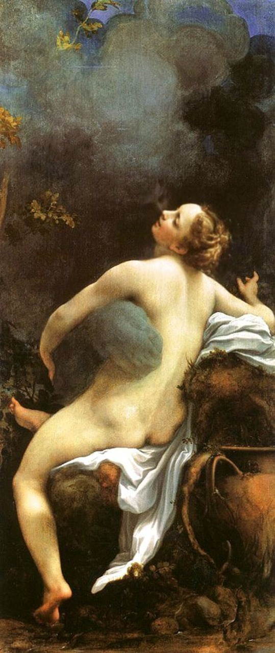 """Jupiter and Io,""  Antonio Allegri da Correggio. ca. 1530"