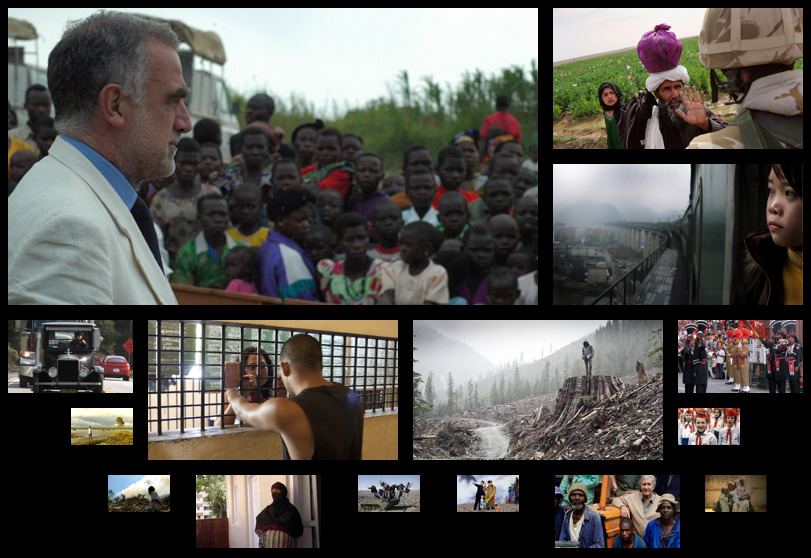 The Economist Film Project showcases the work of independent  documentary filmmakers from around the world: http://bit.ly/pOduon