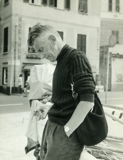 From the archive: Samuel Beckett, S. Margherita Ligure, Genoa - 1971