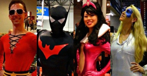 fashiontipsfromcomicstrips:  Cosplay Photo Highlights From New York Comic Con 2011 [link] As you know from our previous roundups of convention cosplay from San Diego, Dragon*Con and of course our weekly Best Cosplay Ever feature,   we are big fans of cosplay. The comics, sci-fi, gaming and fantasy   communities' talents for homemade disguises, craftsmanship, and   sartorial superheroics were definitely on display last weekend at New York Comic Con,   and you'd better believe ComicsAlliance was there to take in as much  as  we could. Check out some exceptional examples of  superheroic  cosplaying talent that we spotted in New York on ComicsAlliance! How many fellow Tumblrers can you guys spot? :)