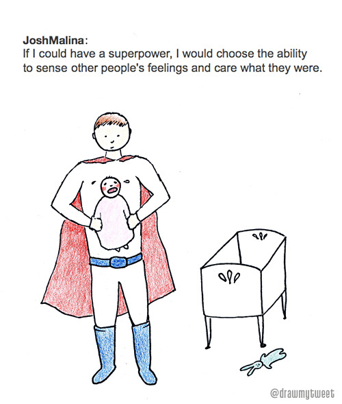 Baby power. Inspired by JoshMalinaGo to the previous drawing | DrawMyTweet on Twitter