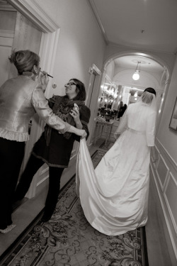 Erin and Kevin Get Married [PART 1 of 2]: The bride and groom got ready at Waldorf Astoria and the reception held at Metrazur Restaurant. (Click on any photo to enlarge)