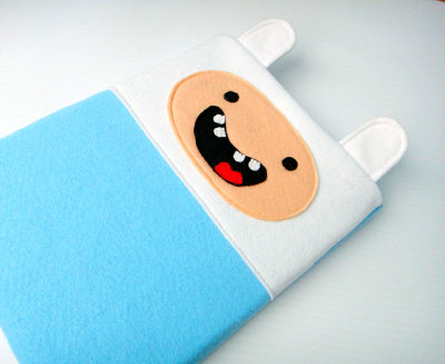 What time is it? It's adventure time ipad case! Available on Etsy.