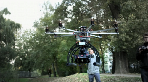 Red Epic X takes flight.   The OM-Copter gives wings to the Red Epic from omstudios on Vimeo.