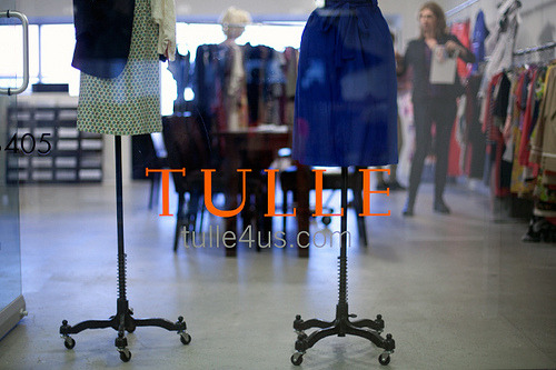 Next stop: The Tulle showroom where we checked out the new Spring collection and picked out designs for the our next Be The Buyer collaboration!