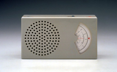 dieter rams. braun t41 pocket radio.
