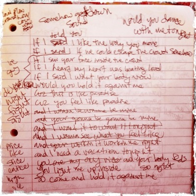 @BonnieMcKeee: For all you @BritneySpears fans… The original draft of Hold It Against Me twitpic.com/72cd6a