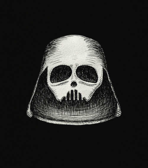 pacalin:  Death Vader - by Zach Terrell Prints available at society6.  Heeeeerrrrrreeeee comes Haaaaaaalllllllloooooooowwwweeeeeeeeennnnn!