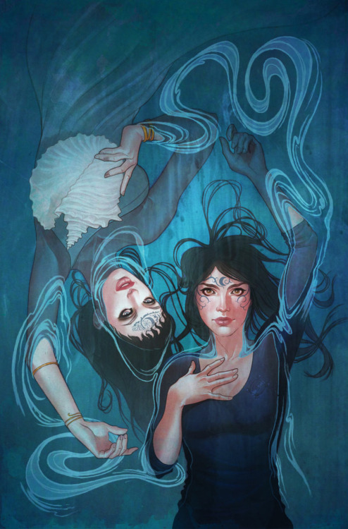 Jenny Frison is seriously one of the best cover artists out there. Type her name into the Tumblr thingie and get ready.