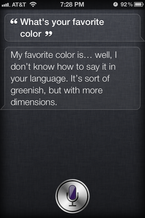 Oh Siri. I love you.