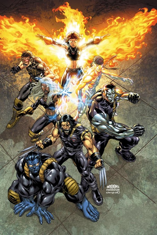 Ultimate X-Men // artwork by Mark Brooks, Jaime Mendoza and C.C Luvins (2007)