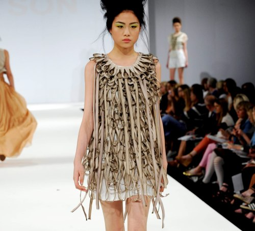 namal: Angela Ritson, University Central Lancashire at Graduate fashion week 2011. For more see Rebel Magazine's Graduate Collections issue.