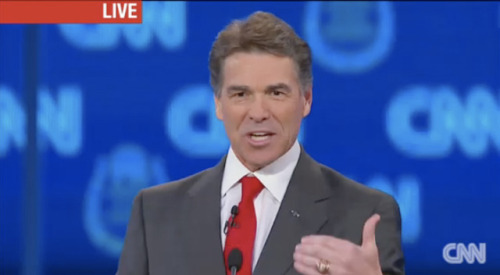 Rick Perry just called for defunding the United Nations, to a rather warm reception from the GOP crowd. Ron Paul followed up by declaring his intent to cut all foreign aid.
