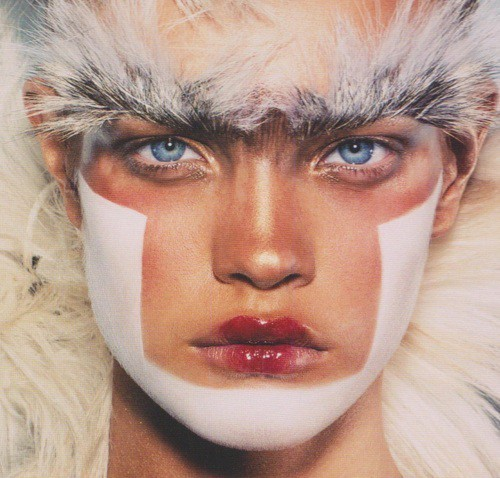 givemeaburger:  Warrior Makeup
