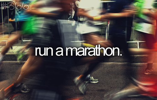 SO MANY MARATHONS.