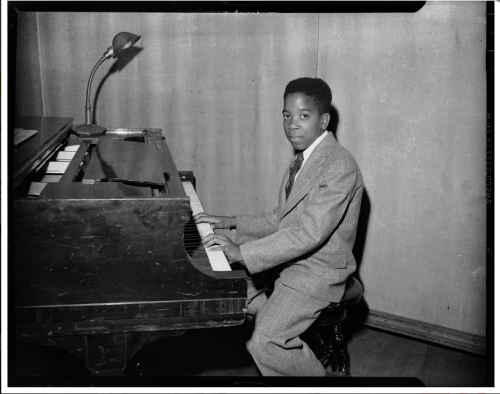 Sonny Clark, age 15 [Photo from a two-part article on Clark's life in The Paris Review.]