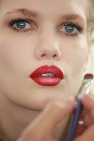 ombré lips at miu miu!