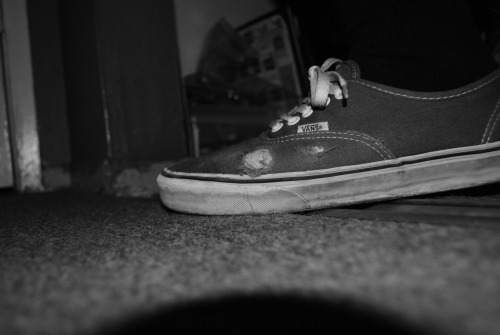 zmbk:  my vans are ripping!