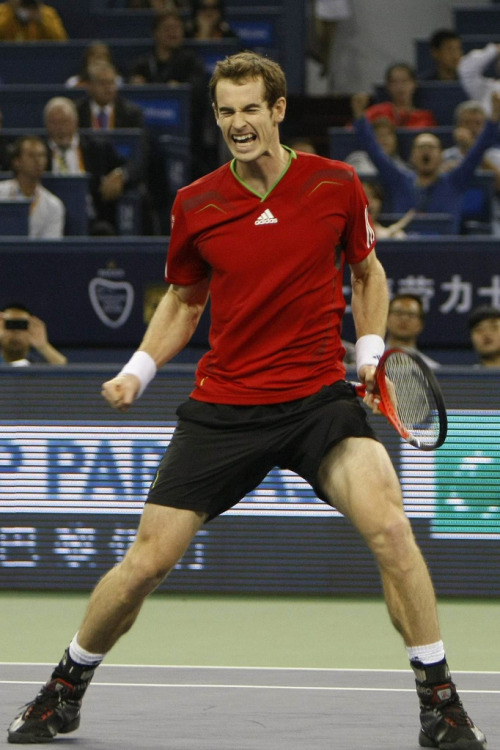 2011 Shanghai Rolex Masters Final: Andy Murray v David Ferrer  (by WeAreTennis)