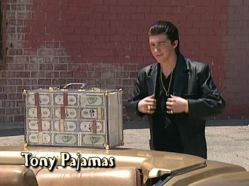 OMG TONY PAJAMAS <3