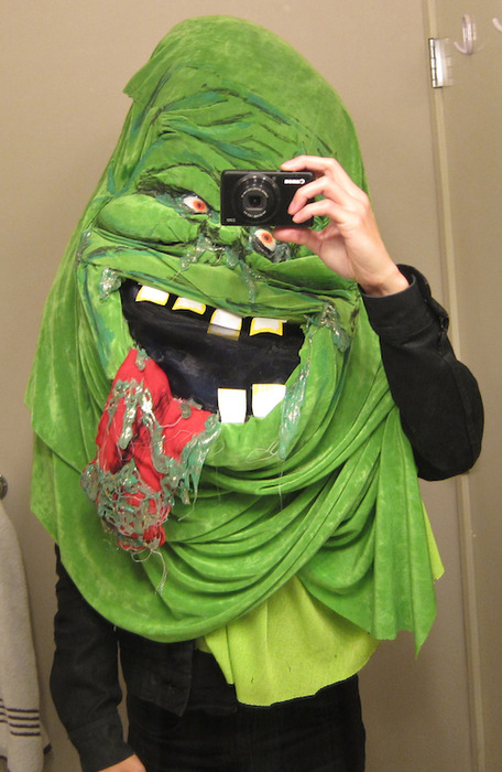Last year I dressed up as Slimer for Halloween and I ended up making out with a girl dressed up as Groucho Marx. Any suggestions on how to top it this year?