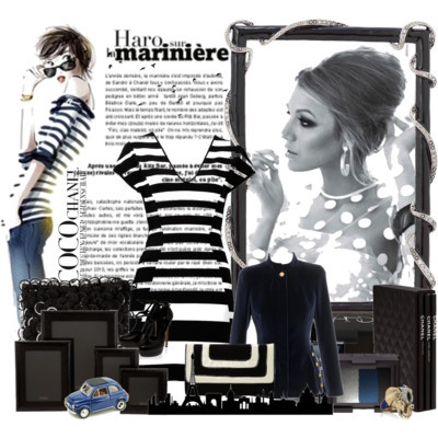 "B&W by hopeocean featuring a black and white stripe dressHerve Leger black and white stripe dress£538 - oxygenboutique.comAlexander McQueen army jacket£1,395 - brownsfashion.comElie Saab leather sandals$608 - boutique1.comDorothy Perkins black clutch£18 - dorothyperkins.comRoberto Cavalli ring£260 - net-a-porter.comNARS Eye Shadow Trio -Okinawa$45 - barneys.comNARS Cream Eyeshadow -Zardoz$23 - barneys.comCHANEL - CHANEL Cosmetics and Fragrance | Nordstromnordstrom.comBarneys New York Python Frames at Barneys New York$85 - barneys.comParis Skyline Vinyl Wall Art Mural - WallQuotes.com$55 - wallquotes.comZara Home - WHAT'S NEW - Rings Cushion€50 - zarahome.comHarlow 5"" x 7"" Frame$108 - addisoncollection.net"