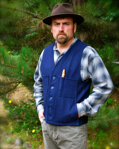 (via Pocket Options for Custom Made Melton Wool Vest by CascadiaWoolen)