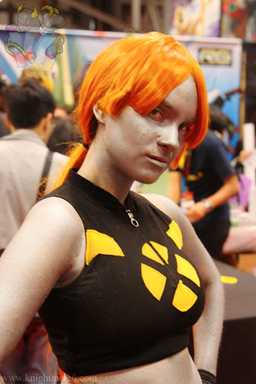 Mercury cosplay at New York Comic Con 2011. Photo by Philip Ng. (Source)