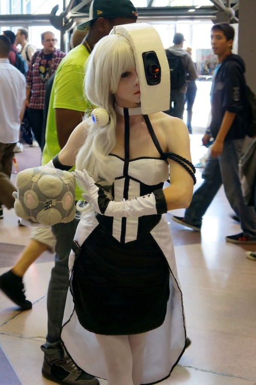 Human GLaDOS at NYCC (via Destructoid, reddit)