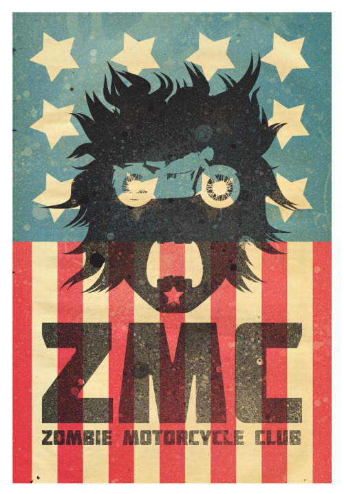 fer1972:  Zombie Motorcycle Club by David Behm
