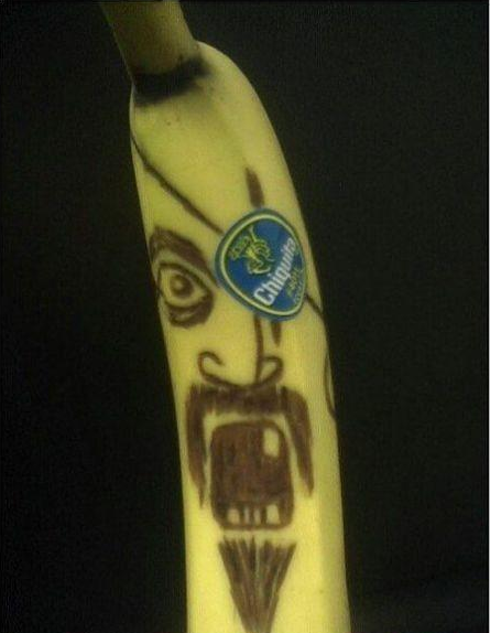 Its a nanner…..and its also a pirate……sweet.
