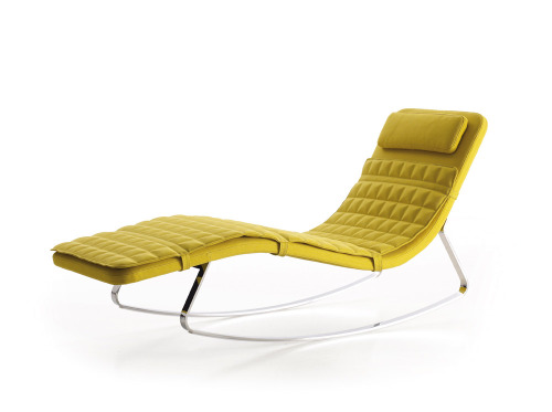 Chaise-longue Landscape by Jeffrey Bernett for B&B Itália.