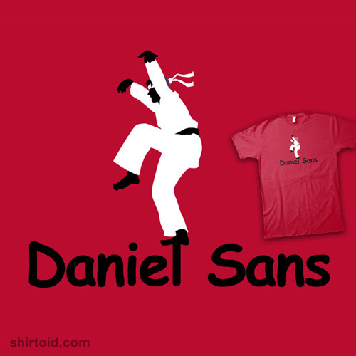 Daniel Sans available at Shirt.Woot