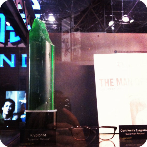 Spotted at NYCC 2011: KRYPTONITE [from Superman Returns]