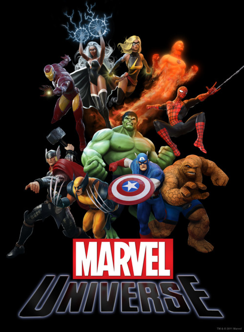 First look at Marvel Universe (Poster Art)!