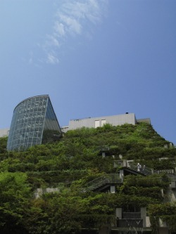 Awesome! permatech:  Japanese Architecture Takes Green Roofs to a Whole New Level – Literally | This Big City ACROS building, Fukuoka Japan More views via thisbigcity: 全文請見《城事》:urbangreens