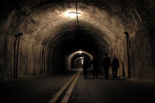 Providence bus tunnel…I want to explore.