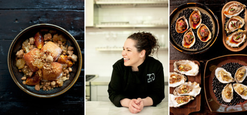 "How would you describe your restaurant, Girl and the Goat?Chef Stephanie Izard: ""Rustic, with a bit of badass."" We're giving a way a FREE cookbook from chef Stephanie Izard, Top Chef winner and owner of Chicago restaurant, Girl and the Goat. If you don't cook, here are the restaurants Stephanie loves in Chi Town."