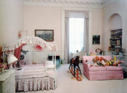 Caroline Kennedy's bedroom in the white house