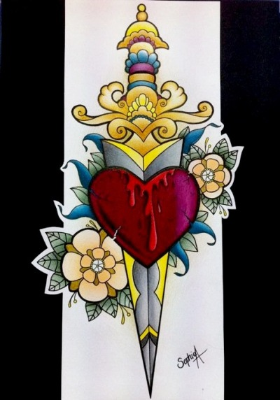 Tattoo design by me, Sophie Adamson, Tattoo apprentice at Art and Soul Tattoo, Plymouth UK