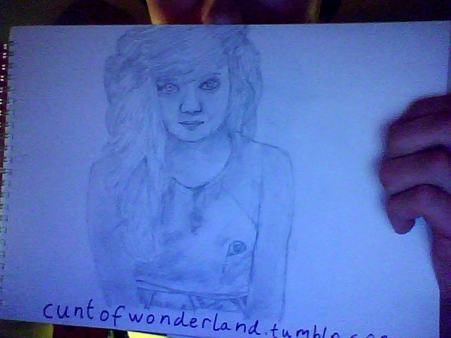 http://cuntofwonderland.tumblr.com/ go follow her :D took me an hour doing this :)
